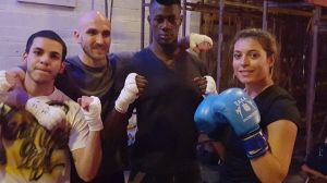 Fighters - Eman, Brad, Jordan and Paige