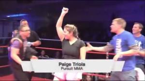 Paige Winner - TV screen grab